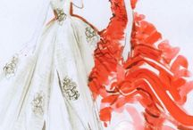 Fashion:  Sketches, Illustrations, Vintage / by Leslie E. Young