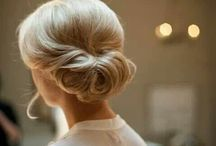 Emily's Wedding Hair Ideas / I need to start thinking about this now because if I decide I want to grow out my bangs for the wedding (possibility) it will take a while! Mom, Carrie & Julia - help! Keep in mind that my hair is super fine and I have like 1/4 as much as Carrie does :) / by emily bites