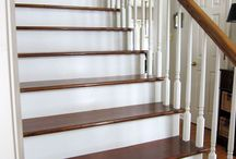 Staircase makeovers / by DIYbyDesign