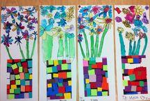 spring-flowers / by Kirsten Grobelny