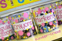 organizing my classroom / by Johnna Cline