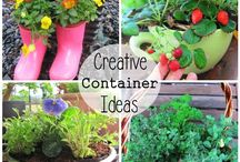 NNH Creative Herb Container Class / by Tiffany Pendergrass