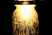 Mason Jar Brilliance / I believe this could become an obsession ;) / by Laura Allard
