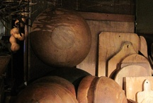 Dough Bowls/ Trenchers/Boards♥ / by Lisa DeCicco