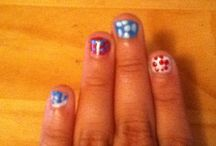 Nails  / Cute nails for holidays or just for fun! / by Hailey Tomlinson