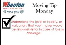 #MOVING #TIP #MONDAY / Check back on our #MOVING #TIP #MONDAY board for a smooth move!  / by Wheaton World Wide Moving