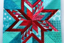 Paper Piecing / Paper Piecing patterns, easy to difficult, traditional to modern. / by Meagan Guite | SewGiddy