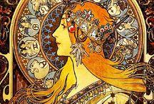 Art Nouveau and Art Deco / by Ann Bevis