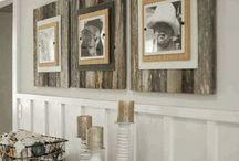 Barn board ideas / by Melissa Crow