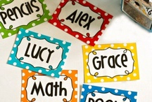Organization/Labels for the Classroom / by Meghan Davis