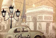 My ♥️ belongs to Paris / by Donalda Alexander