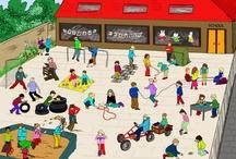 vive le sport !! / crafts et apprentissages sur le thème du sport / by Christel Ponsero