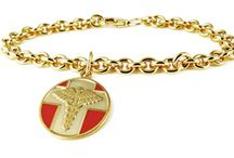 Charmed, I'm Sure / Medical ID bracelet designs that dangle! / by American Medical ID