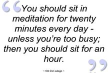 Zen & Meditation / Spirituality, Zen, Meditation and anything else to help relax and center the mind. / by Kristen Cavanaugh
