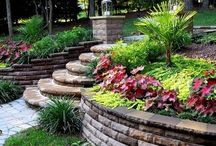 Steps and Retaining Walls / by Debbie Clausen