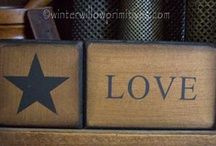 Simple Wood Crafts & Signs / by Karen's Treasures