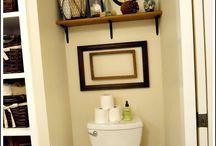 Bathroom updates / by Deania Carson
