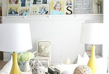 Living room ideas  / by Mariah Judd