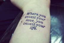 Tattoo Ideas / by Judith Looyestein