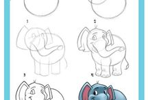 HOW TO DRAW / by Linda Dear
