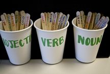 Nouns Verbs And Adjectives / by Darlene Sabelhaus