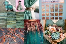 Copper wedding ideas / by Noelle Spooner Calhoun
