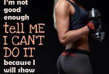 #fitnessmotivation #tellmeicant #illshowuican / by David N Morgan Galvan