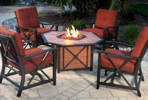 Outdoor Deep Seating Patio Furniture Sets / by Patioline - Hot Tubs, Patio and More