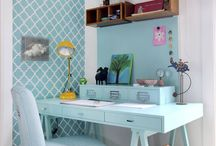 Home Office Inspiration / by Crafty Cree