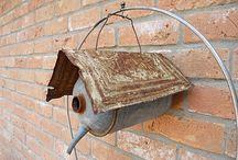 Unusual birdhouses / by Linda Meleyal