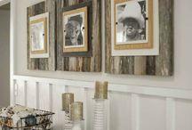 Barn Board & Wood Ideas / by Melissa Jones-Watson