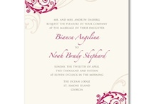 Wedding: Red / Bright and Beautiful! / by William Arthur Fine Stationery