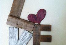 Reclaimed Barnwood / awesome ideas using reclaimed barnwood / by Dena Goody