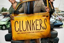 """Clunkers (Movie) / (Short Synopsis) """"When an injury crushes Ritchie's dreams of playing Major League baseball, he is forced to join a dubious team of used car salesmen. With a drunk receptionist and a not-so-handy mechanic, you'll get more than you bargained for."""" (Starring) Sherman Hemsley (TV's The Jefferson's, The Love Boat & All In The Family), Ritchie Montgomery (Catch Me If You Can, The Princess and the Frog), Carl Payne II (TV's Martin), and Robin Thede (TV's Buppies). / by Green Apple Entertainment"""