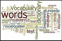 Vocabulary / by Jenifer Stewart