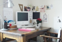 work spaces / by Kayleigh O'Mara