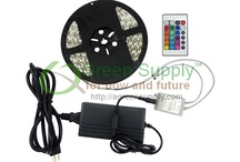 LED Strip Lights / Green Supply LED Strip Light, w/ thin flexible profile&adhesive backside that can be attached to any surfaces, is a conventional indoor&outdoor lighting source w/ many uses. Green Supply Flexible LED Strip Light can be used as an: Accent indoor and outdoor lighting (stairway, family room, dining room, kitchen, bedroom, garden, pool, RV, car, yacht, restaurant, hotel, club)  and more! http://www.agreensupply.com/led-strip-lights-1/ / by Green Supply