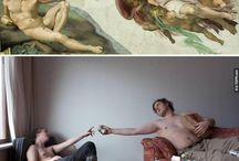 funny art work / by Shawn Lan