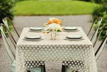 Linens and other such details / by Plum Sage Flowers