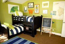 Bedrooms / by Elizabeth Burkey-Humke
