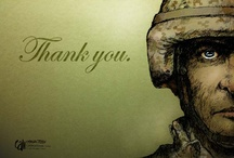 """Heroes of Our Nation: Saluting our Service Men & Veterans / eCaring says """"Thank You"""" to our country's Veterans & Warriors for their service & sacrifice. / by eCaring"""
