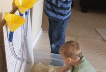 Sensory tubs / preschool / by Jessica Winn