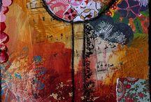 Art | Mixed Media Art & Artists / by Leisa Watkins