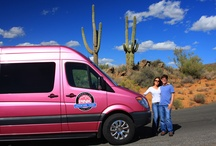 Pink Adventure Tours / Pink Adventure Tours Scottsdale! Nobody knows Arizona like Pink Adventure Tours. We've been providing guided tours here for over 50 years. Our knowledgeable and friendly guides will help you create lasting memories that will inspire and delight you for a lifetime. Climb about our luxurious, custom built Mercedes Benz tour vehicle for an amazing day trip to the Grand Canyon, one of the seven natural wonders of the world, or Sedona, known the world over for its awesome red-rock formation. / by Pink Jeep® Tours