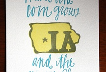 Iowa....my home state :) / by Elaine Rough