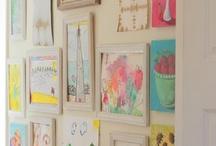 Children's Art Display / by Cathie Moros