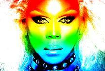 When life's a drag,,, wear a wig / by Estrella Reynoso