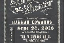 wedding shower / by Pollina Sonntag
