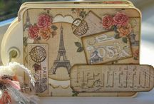 Postcard from Paris Paper Pad / by Craftwork Cards