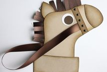 paper stocking  / by Susan Harwell Hendrick